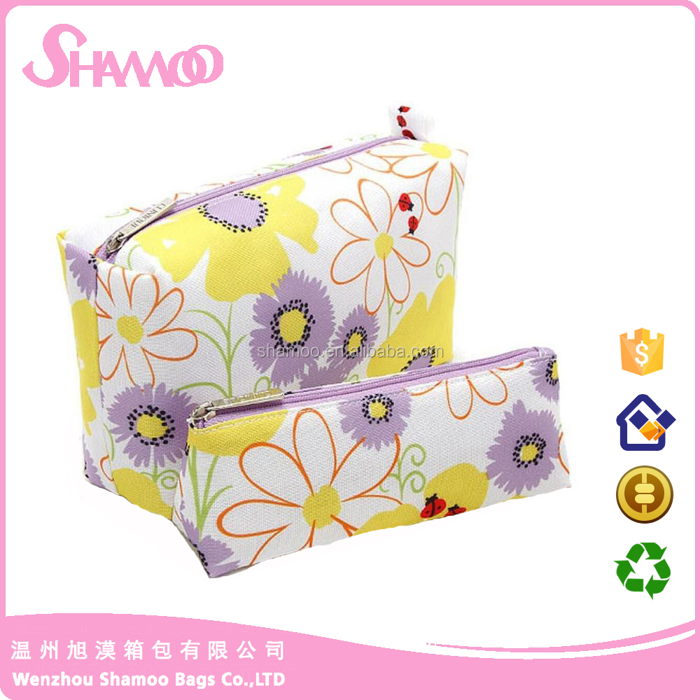 Bag Type and Oxford Material Travel Large Cute Makeup Organizer Pouch