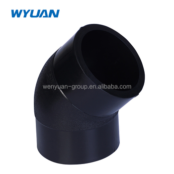 HDPE Butt Fusion 45 Degree Elbow