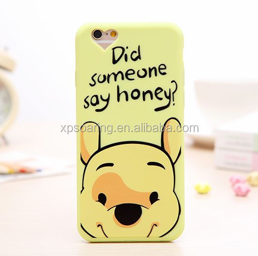 Cartoon Lover Soft case for iPhone 6, for iPhone 6 plus Cute cellphone case cover
