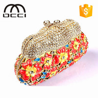 Korea fashion bags with colorful online shop alibaba china women crystal evening bags TY803
