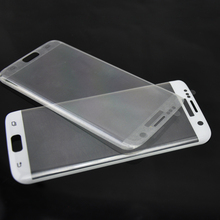 2016 Newest products For Samsung Galaxy S7 Edge 3D Curved Full Cover Tempered Glass Screen Protector Available