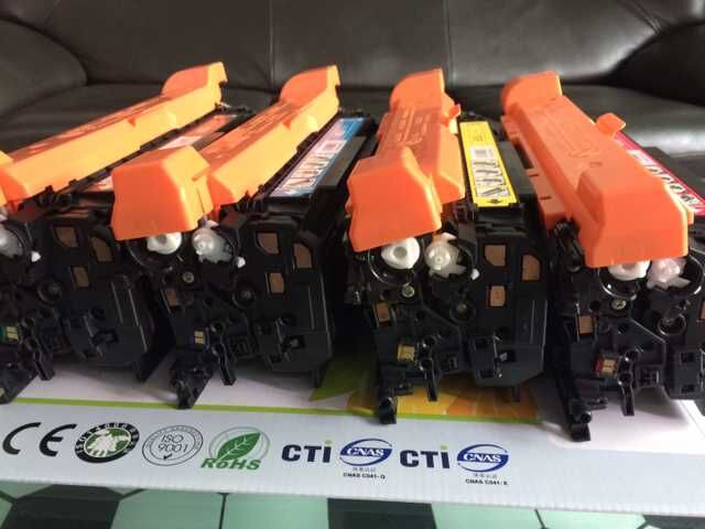 color toner cartridge compatible for CE270A,CE271A,CE272A,CE273A(650A) printer