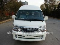 Left Hand Drive China 15 Seats Minibus