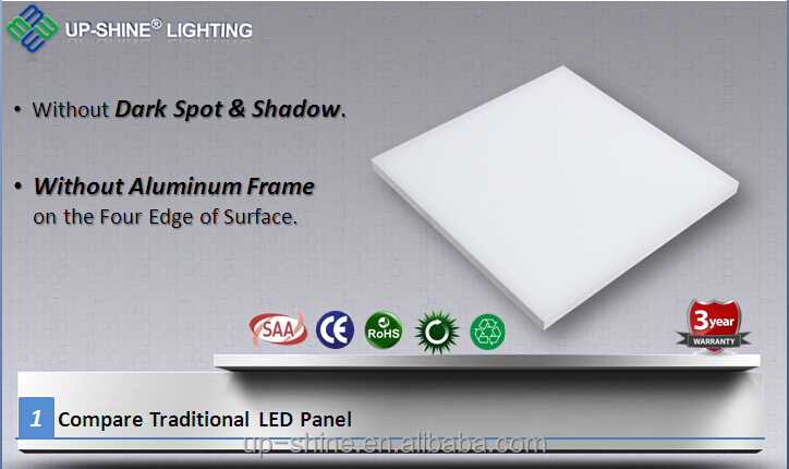 18w 35w 36w 42w 45w frameless led panel light