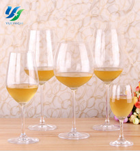 Wholesale Water Goblet White Glass Crystal Clear Industries Glassware