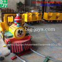 Amusement Kids Track Electric Mall Trains used carnival rides for outdoor use