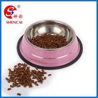 2016 pet products Stainless steel travel pet bowl / dog feeders / cat water bowl