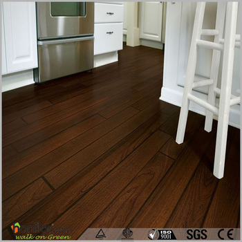 Deep embossed matt finish pvc wood flooring