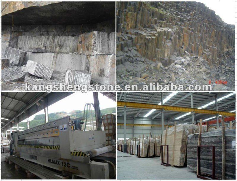 Chin s pedra natural m rmore negro marquina telha de for Fabrica de granito