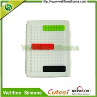 Creative Protective Soft Silicone Cover for Pad with block design