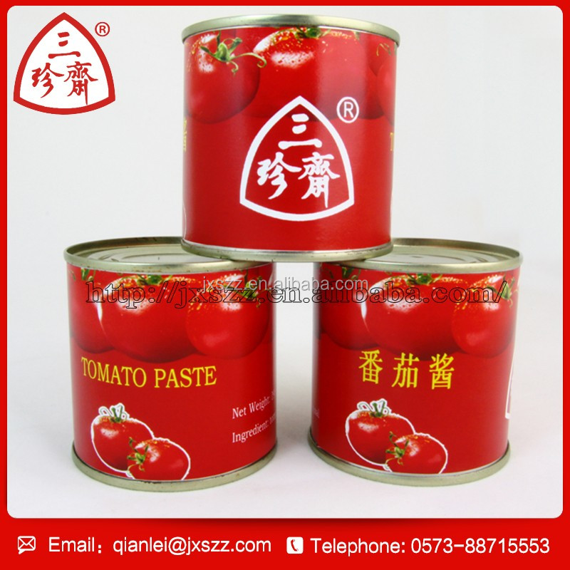 Good taste tomato sauce brand names china tin tomato paste