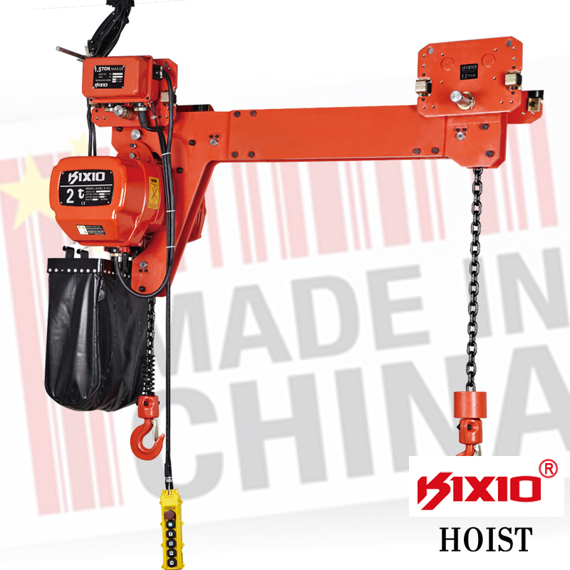 380V AC dual hook electric truck hoist winch