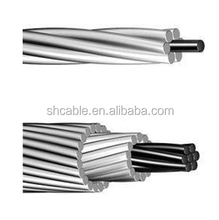 British standard supplier 100 mm2-1000 mm2 ACSR, Aluminum conductor steel reinforced, AAC, all Aluminum conductors