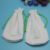 wholesale canvas Jewelry drawstring bag for storage