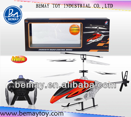 2channel plastic helicopter toy small