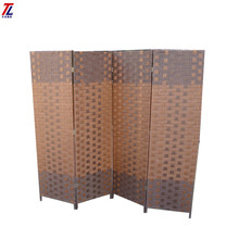 handmade woven make folding screen commercial room dividers foldable wholesale