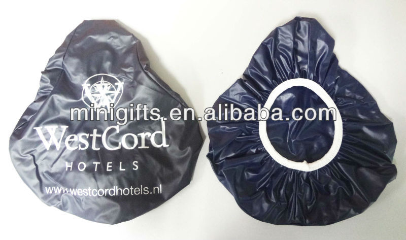 Bicycle seat cover for promotion,pvc bike saddle cover