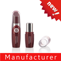 New style plastic clear lipstick tube 12.1mm