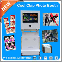 2014 New Product Folding Design Touch Screen Photo Both With 3D Stunt Effect For Christmas Party Rental