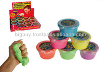 Colored Bouncing Putty - Modelling Silly Putty Funny Game Toy