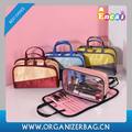 Encai New Design 2in1 Make-up Bag Stylish Lady's Cosmetic Bag Organizer