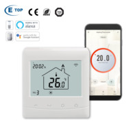 External Programmable Smart Room Thermostat WiFi With Iphone APP