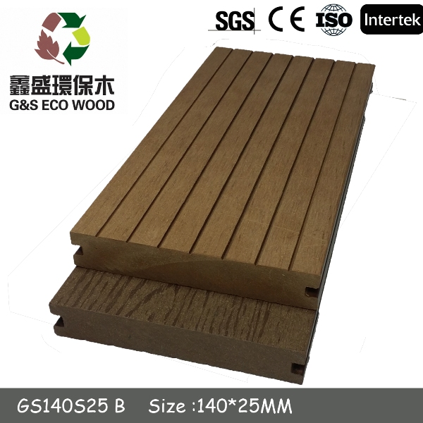 Wood plastic composite timber decking outdoor wpc crack-resistant decking cheap price wpc flooring