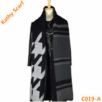 New Design Women Winter Magnetic Scarf