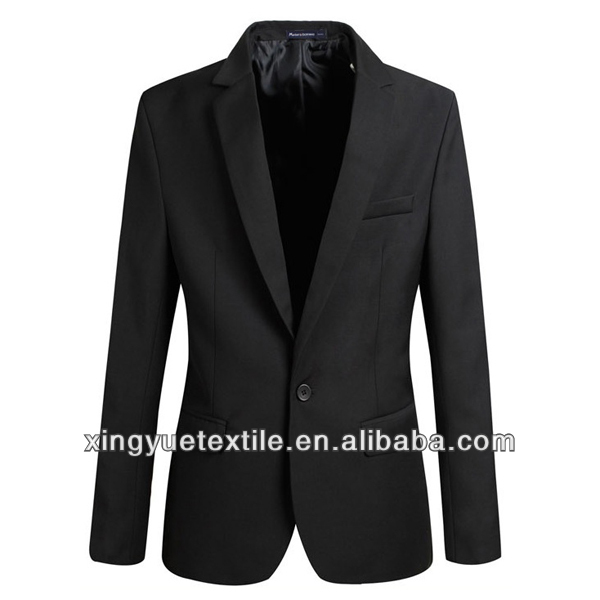 modern one button business man suit