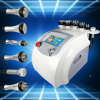 Ru+5A 7in1 Multifunctional Vacuum Cavitation RF Roller Microcurrent Complete body Shaping Machine