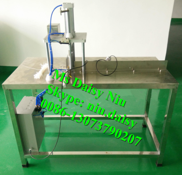 semi-automatic bar soap cutter/round soap slicer cutter machine/soap strip cutting machine