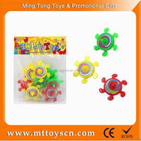 Flower geostrophic classic spinning top toys for children