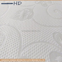 china wholesale modern design knitted anti-static polyester padded mattress fabric