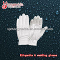 Ceremonial police uniform cotton parade gloves