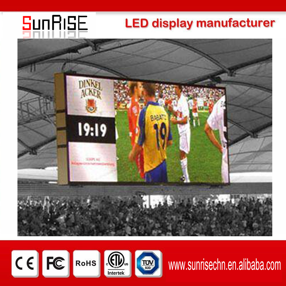 pillar mounted led billboard display Outdoor video function