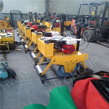 road construction soil/earth hand push road roller with honda engine