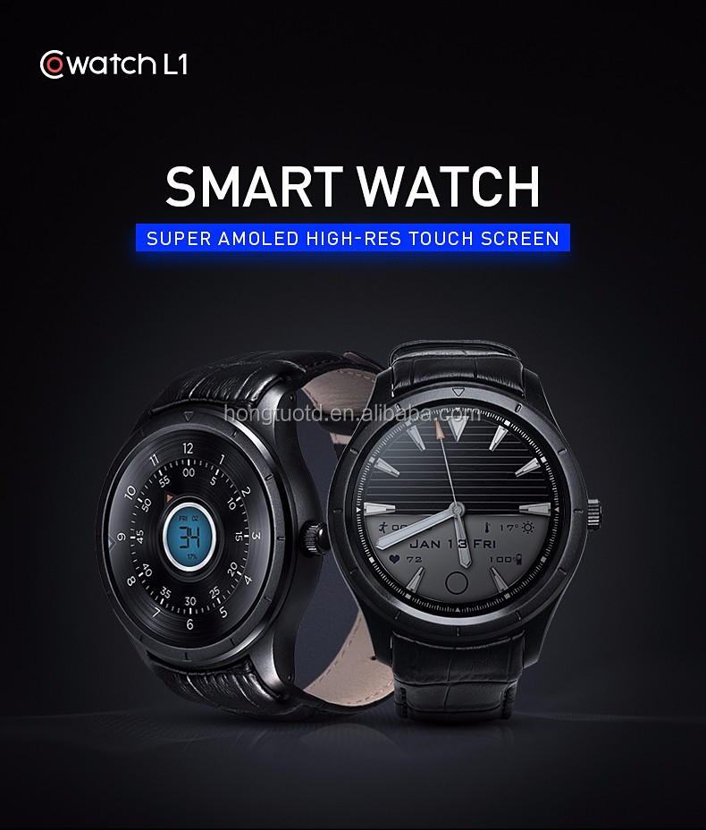 Smart Watch Phone Support 3G SIM Card WiFi AMOLED 1.39 Inch Touch Screen GPS Heart Rate Monitor Android Accept OEM