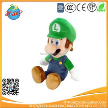super mario bros Luigi plush toy