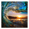 1 Panel HD Printed Seawave Photo Canvas Wall Art Surfing Photo Canvas Painting for Living Room Free Shipping/SJMT1916