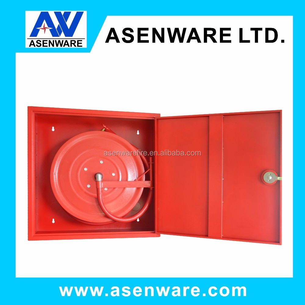 Steel frp fire protection cabinet, fire hose reel box