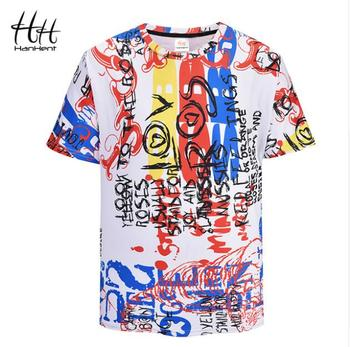 Free Shipping New 2018 Graffiti Art 3D Tee shirts Men Funny Short Sleeve T-shirt