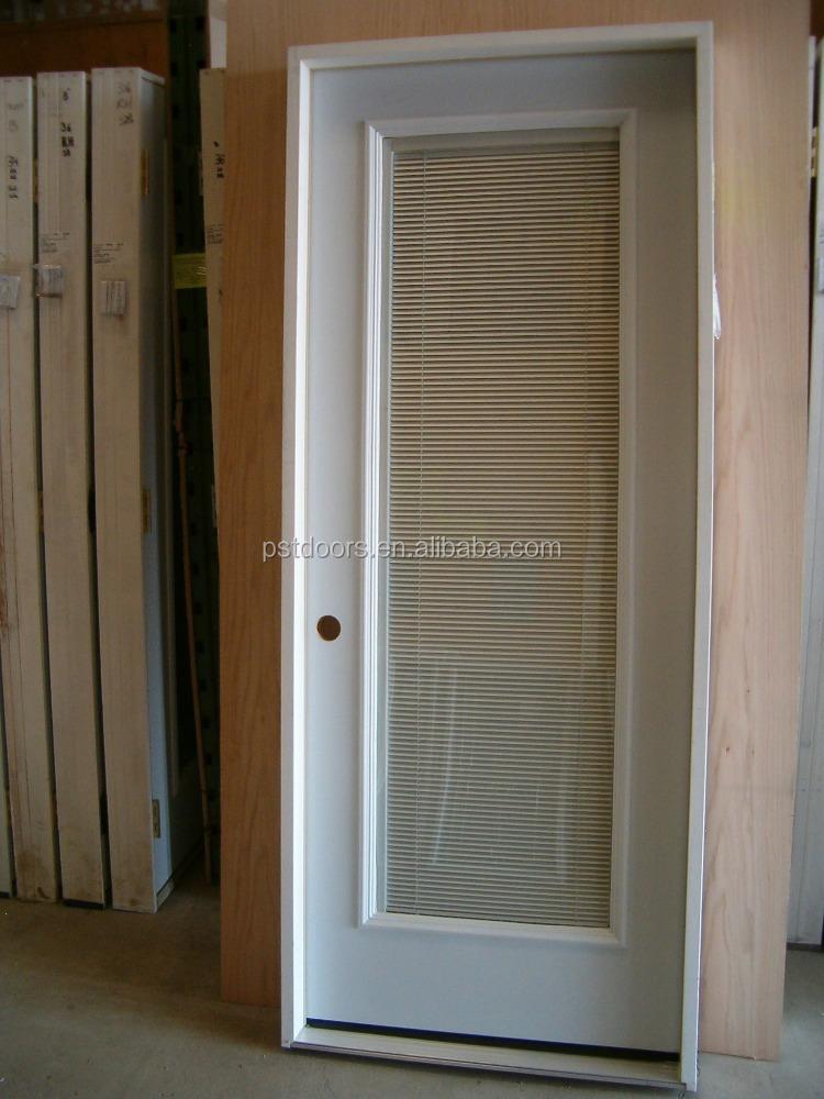 3 panel de puerta de metal con vidrio peque o valo for Puertas de metal con vidrio