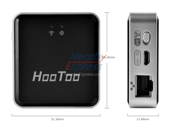 HooToo TripMate HT-TM 02 Travel 3G WiFi Router