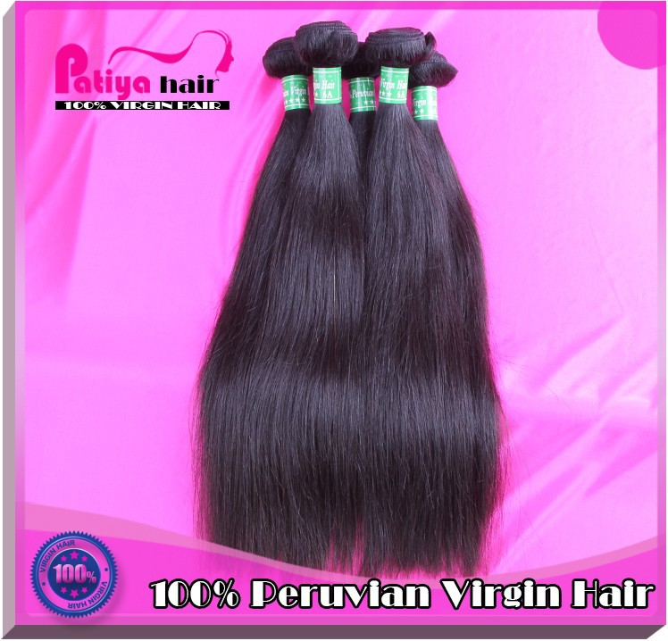 New Arrival straight hair 6a top quality 100% virgin peruvian hair alibaba aliexpress