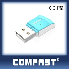 Comfast CF-WU825N 300 Mbps portátil Mini 300 M Wifi adaptador sem fio dongle Wifi Android