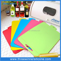 Durable Kitchen Silicone Cutting Board For