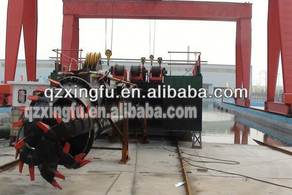 Chinese river sand and suction dredger
