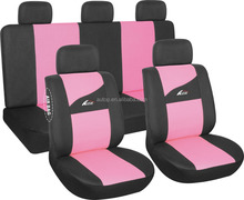 Autop Fashional Design Universal Breathable Girl's Pink Seat Cover for Car