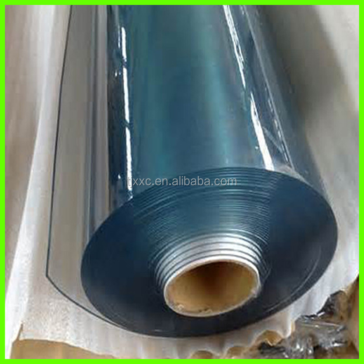 Super clean and transparent 2mm pvc soft rigid sheet