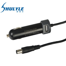 19.5V 3.34A 4.62A laptop car charger for Dell laptop DC adapter